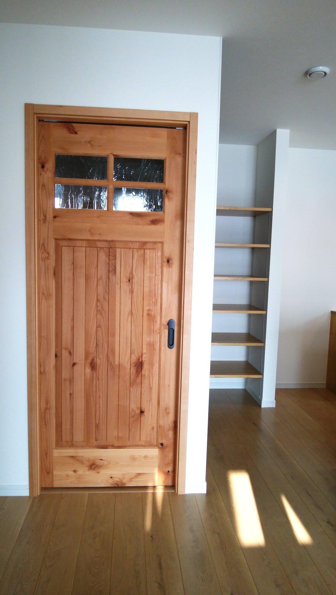 M様邸木製ドア